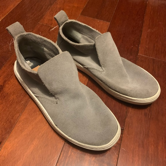 Dolce Vita Shoes | Grey Suede Sneakers